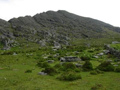 Irland: Aufstieg zum Gipfel des Hungry Hill