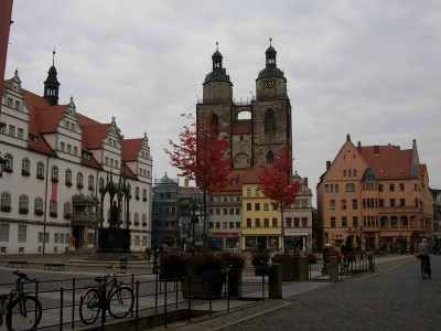 Herbstreise: Wittenberg & Klaistow